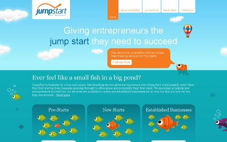 JumpStart Homepage