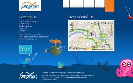 JumpStart Contact Page