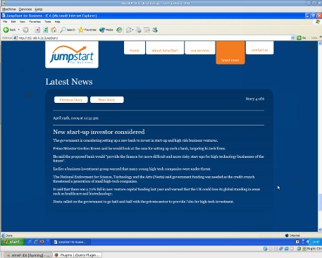 JumpStart News Page Fixed
