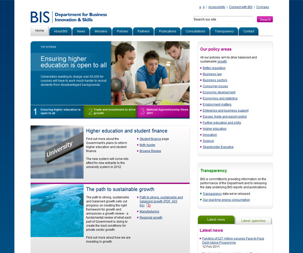Department for Business Innovation and Skills