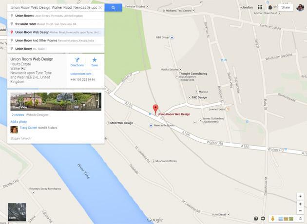 UR-Web-Design-Google-Maps