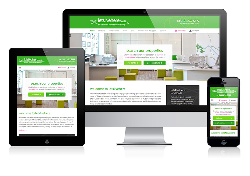 Lets Live Here - New Responsive Website Launch by Union Room