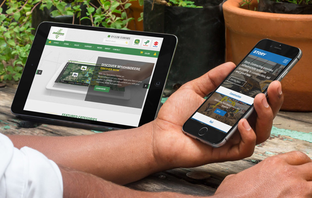 New Website Launches – Story Contracting & Johnston Tractors