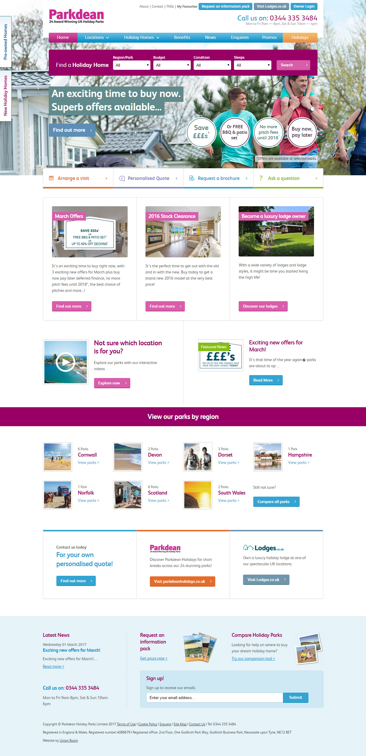 Parkdean Holiday Homes