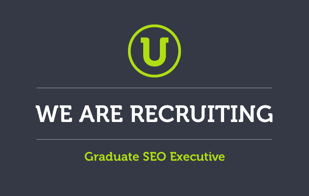 We are recruiting for a graduate SEO executive in Newcastle