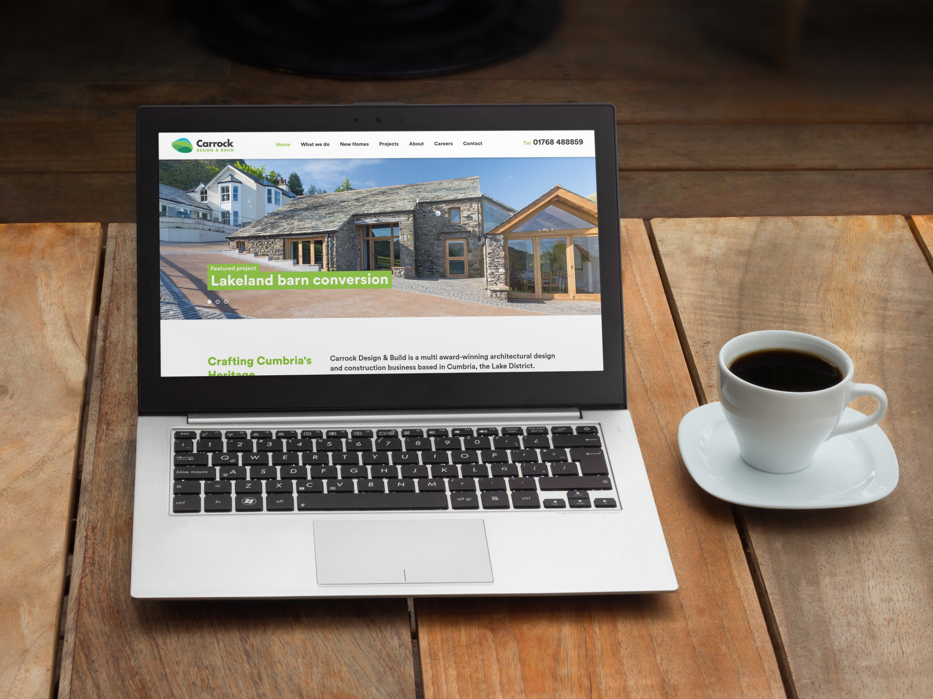 new house website architect and home builder website design