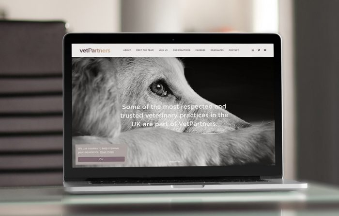 vetpartners veterinary website design