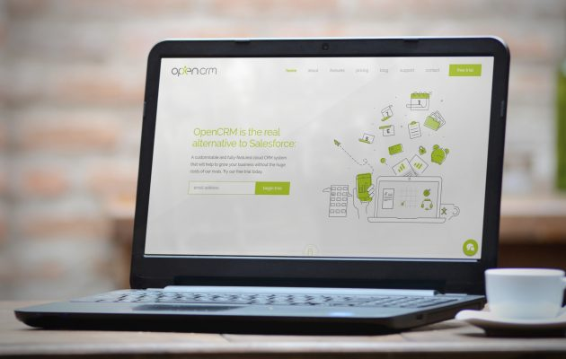 New Site Launch – OpenCRM