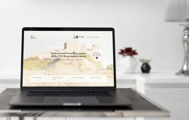 New Site Launch – LJ Ross
