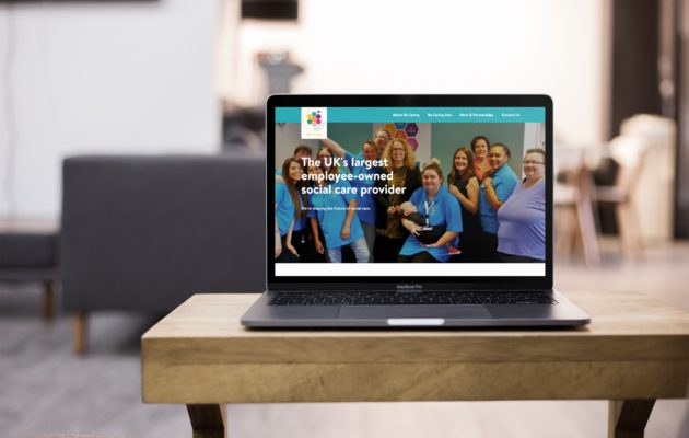New Site Launch – Be Caring